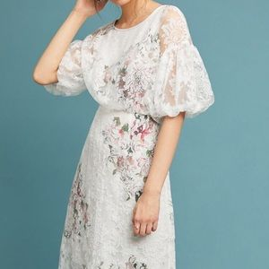 Tracy Reese x Anthropologie Floral Dress NWT